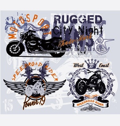 Speedroad rider vector image