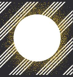 invitation card design template diagonall white vector image vector image