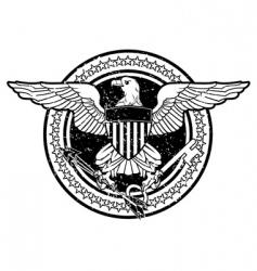 american eagle vector image vector image