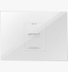 abstract gradient gray cover center with copy vector image