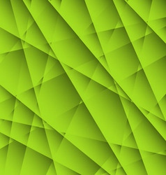 abstract green geometric background vector image