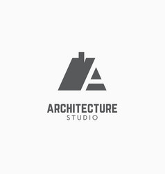 Architecture studio logo vector