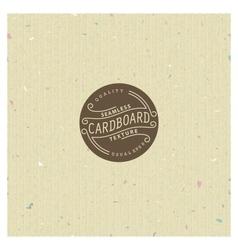Cardboard texture vector