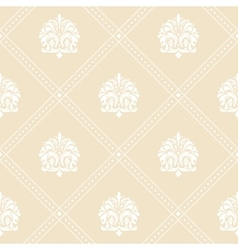 Classic floral wallpaper vector