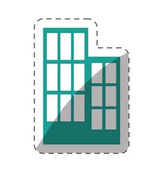 Environment building structure design vector
