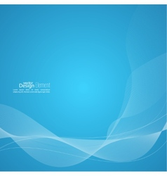 Modern abstract background with soft lines vector