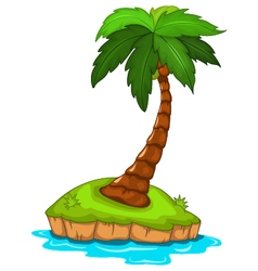 palm tree for you design vector image vector image