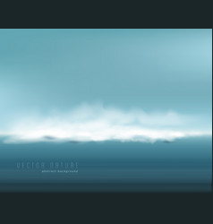 abstract background with restless seascape vector image