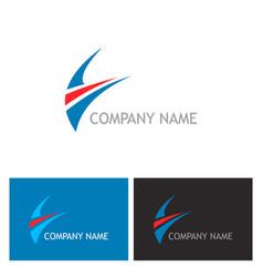 business company logo vector image