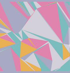 Abstract background with colorful triangles for vector