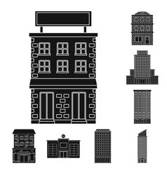 Design modern and estate icon set of vector