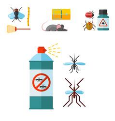 Home pest control expert vermin exterminator vector