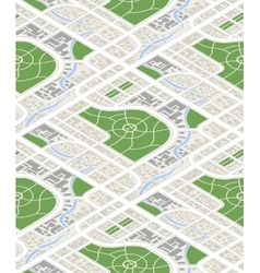 map city in isometric view seamless vector image