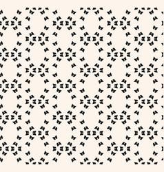 minimalist geometric seamless background vector image