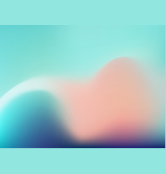 Modern blurred wave background vector