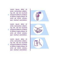 Participatory ergonomic approach concept icon vector