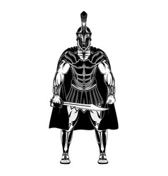 Sparta warrior 000 vector
