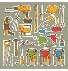 Tools for Repair vector image