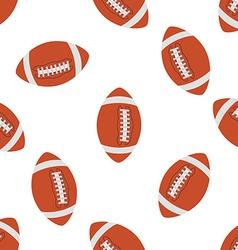 American football Seamless pattern vector image