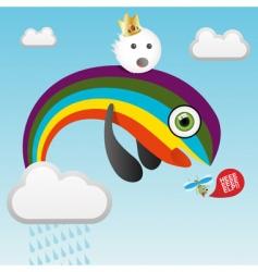 Predatory rainbow vector