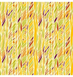 Seamless pattern with hand drawn abstract vector image vector image