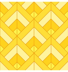 Bohemian Gold Bright Pattern Background vector image vector image