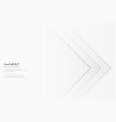 abstract white paper cut pattern design template vector image