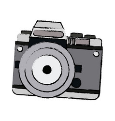 Camera technology photo travel equipment vector