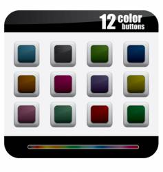 Color button vector