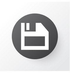 Diskette icon symbol premium quality isolated vector