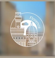 Florencia vector