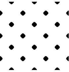 Polka dot pattern small circles and spots vector