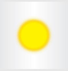 Sun sunshine background design vector