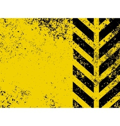 Worn hazard stripe vector