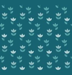 elegant color holland tulip repeatable motif vector image vector image
