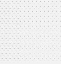 3d white circles seamless pattern background vector