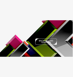 abstract arrows composition background vector image