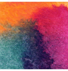 Abstract hand drawn watercolor background stain vector