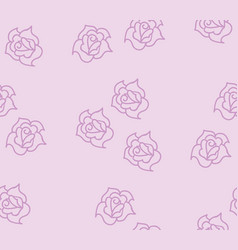 background texture rose vector image
