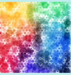 Circular tie die spectrum pattern square format vector