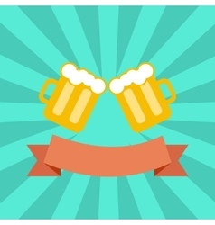clink glasses vector image