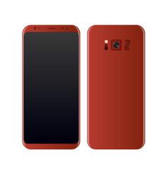 concept realistic smartphone vector image