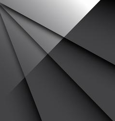 Dark Glossy Backgrou vector image