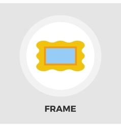 Frame flat icon vector image