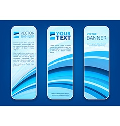 Header or banner set vector image