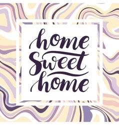 Home Sweet Home conceptual handwritten vector
