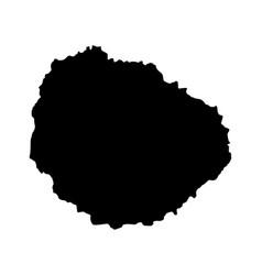 map of la gomera vector image