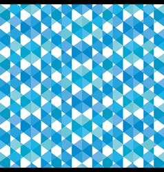 creative square pattern background vector image