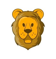Head of lion icon cartoon style vector image vector image