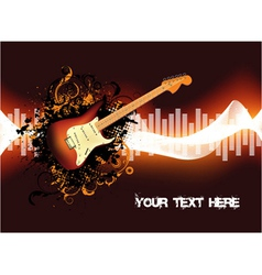 abstract concert poster vector image
